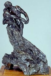 Cette sculpture de Camille Claudel représente un couple enlacé, en train de danser la valse