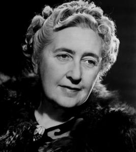 Photographie en noir et d'Agatha Christie