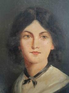 Tableau représentant l'écrivaine Emily Brontë