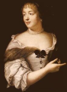 Portrait de Marie de Rabutin-Chantal, Marquise de Sévigné