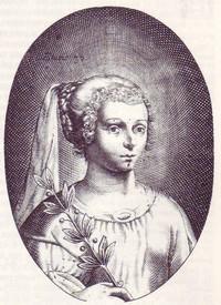 Portrait de Marie de Gournay