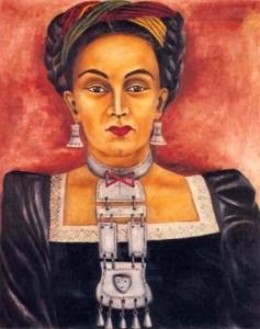 Autoportrait de Maria Izquierdo