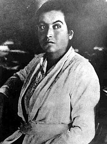 Photographie en noir et blanc de la poétesse Gabriela Mistral