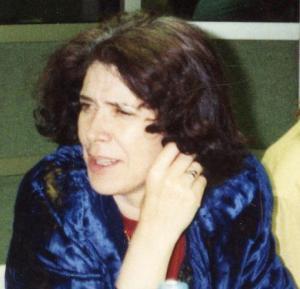 Portrait d'Assia Djebar par Michel-Georges Bernard