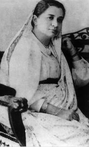 Portrait de Bhikaiji Rustom Cama