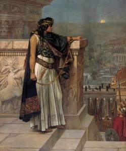Tableau représentant la reine Zenobie à qui Mavia est souvent comparée.
