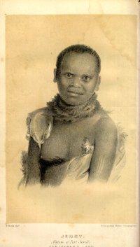 Portrait d'une Aborigène de Tasmanie