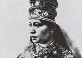 Zewditou, souveraine d'Ethiopie