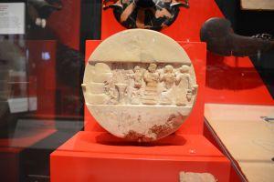 """Le """"Disque d'Enheduanna"""" au Penn Museum à Philadelphia."""