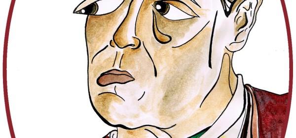 Ce dessin représente Marie Durochet. Elle porte les cheveux courts et des vêtements d'homme.