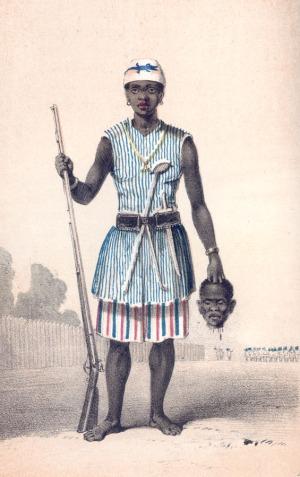"""Seh-Dong-Hong-Beh, """"Amazone"""" du Dahomey"""