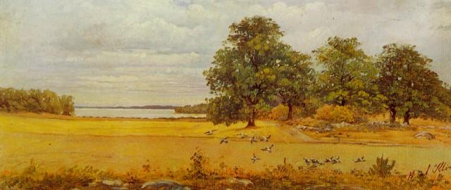Eftersommar - Hilma af Klint - 1903