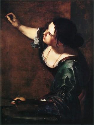 Autoportrait en allégorie de la peinture - Artemisia Gentileschi
