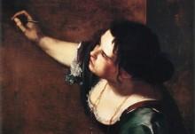 Vignette - Autoportrait en allégorie de la peinture - Artemisia Gentileschi