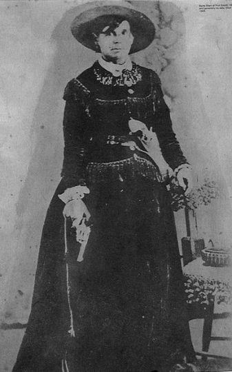Myra Maybelle Shirley Reed Starr, hors-la-loi connue sous le nom de Belle Starr
