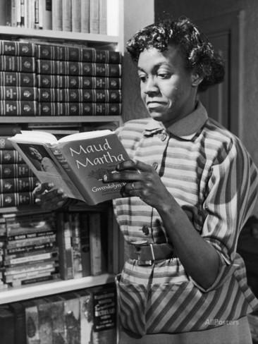 Gwendolyn Brooks lisant son roman Maud Martha