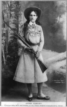 Annie Oakley en 1899