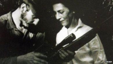 Celia Sánchez et Fidel Castro