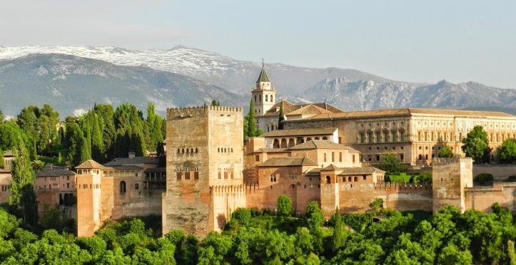 Photo de l'Alhambra de Grenade