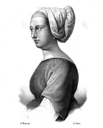 Bettisia Gozzadini, docteure en droit de l'Université de Bologne - par Carolina Bonafede Cenni