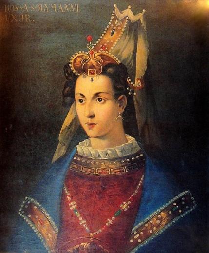 La sultane Hürrem ou Roxelane