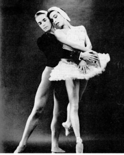 Maria Tallchief et Erik Bruhn en 1961