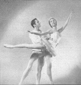 Maria Tallchief et Nicholas Magallanes dans Casse-Noisettes en 1954