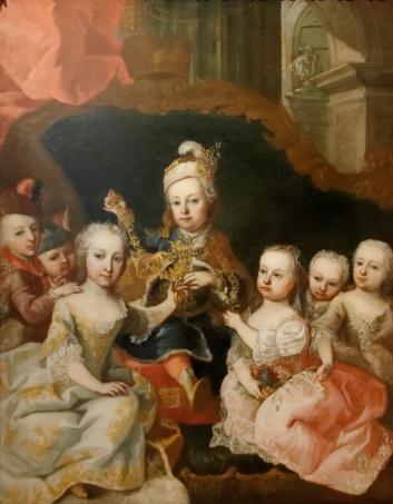 Les enfants de Marie-Thérèse d'Autriche