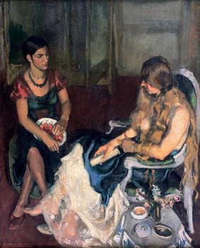 Jeunes filles - Amrita Sher-Gil