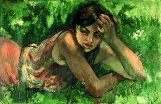 Amrita Sher Gil - Hungarian gypsy girl