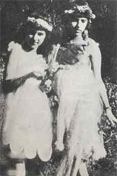 Amrita et sa soeur Indira