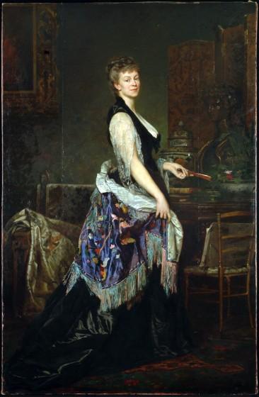Edouard Théophile Blanchard, Portrait de la duchesse Castiglione