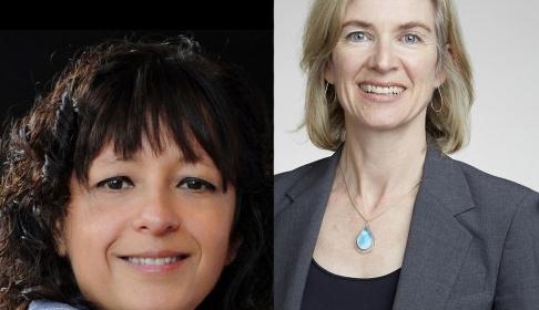 Emmanuelle Charpentier et Jennifer Doudna