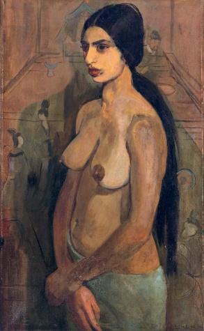 Autoportrait en Tahitienne - Amrita Sher-Gil