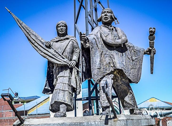 Monument à Bartolina Sisa et Tupac Katari