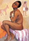Femme noire nue - Pan Yuliang