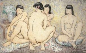 Femmes chinoises nues - Pan Yuliang