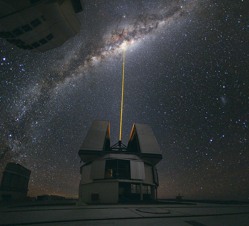 VLT, désert d'Atacama